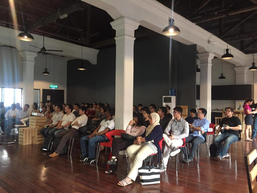 """FI sees over 140 participants during the event """"How to Start A Startup In Penang"""" on Tuesday night."""