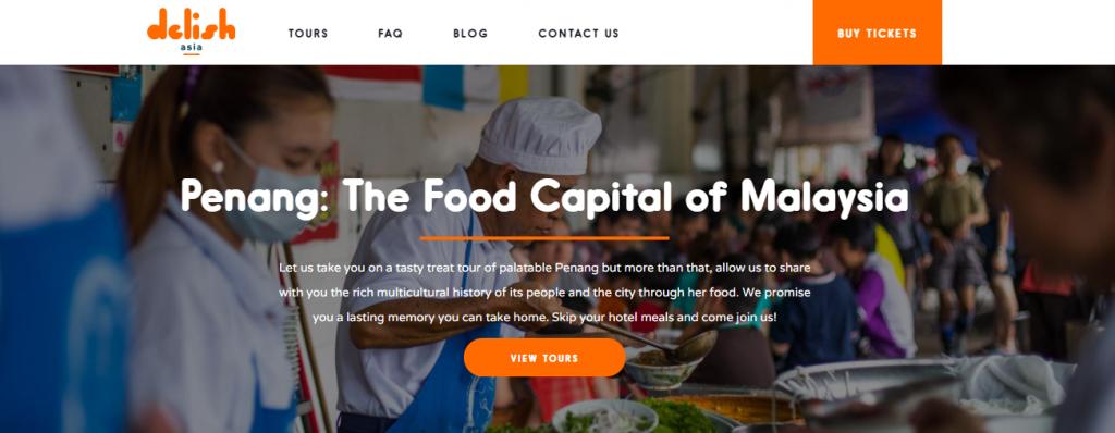 Startup Story: Delish Asia, Delish Asia website